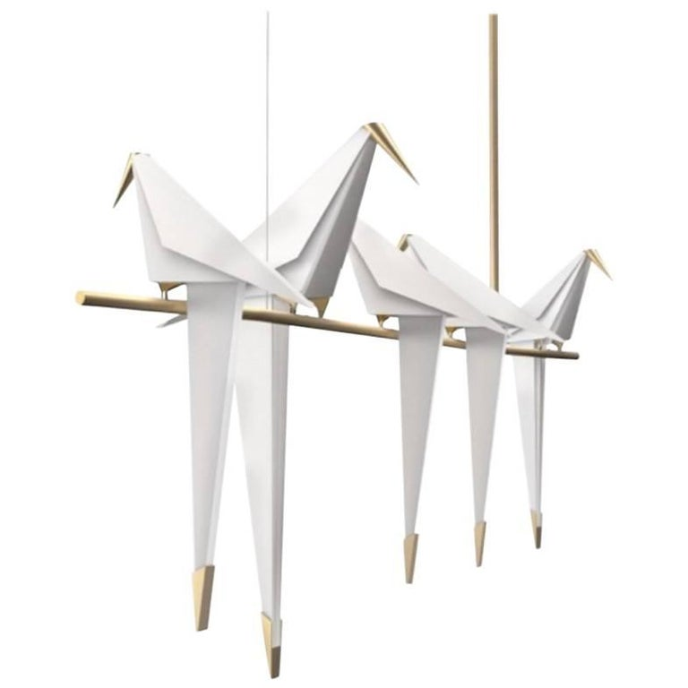 Moooi Perch Light Branch Chandelier in LED For Sale