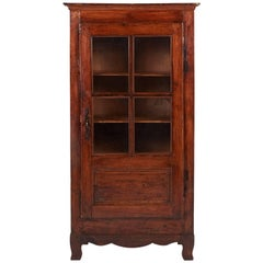 Small Antique Country French Cabinet, circa 1880