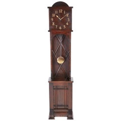 Unusual Art Deco 8 Day Longcase Clock