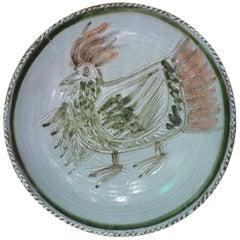 Albert Thiry Ceramic Dish, circa 1960