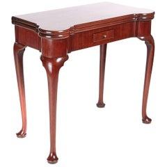 18th Century Mahogany Tea or Side Table