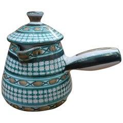 Robert Picault Ceramic Skillet, circa 1960