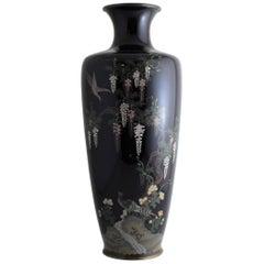 Japanese Meiji Period Cloisonne Vase