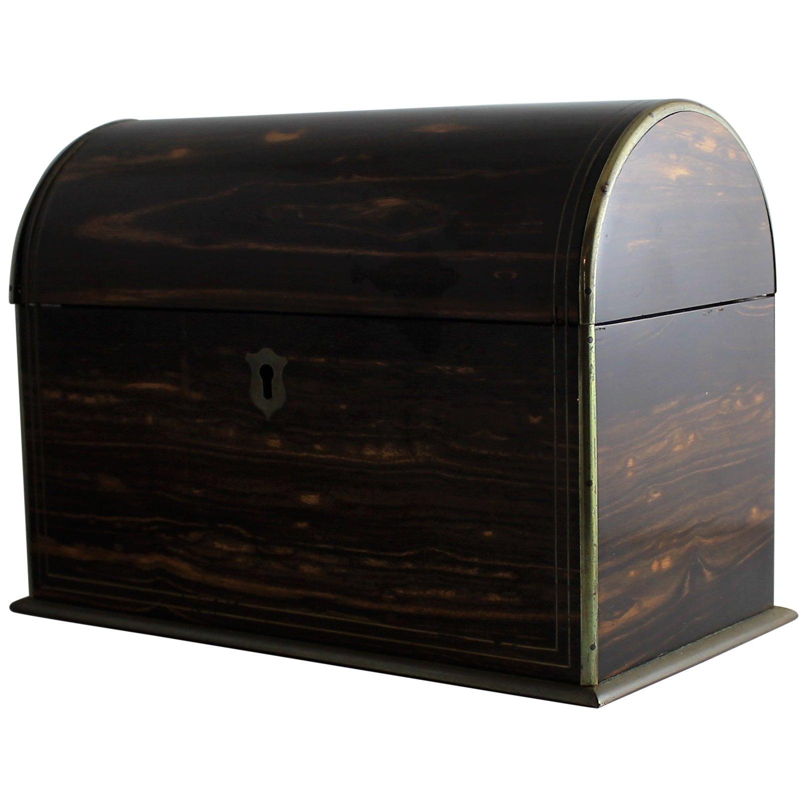 19th Century Wood Stationery Box