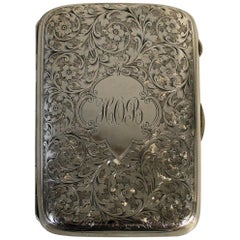 Colen Hewer Cheshire Sterling Silver Cigarette Case