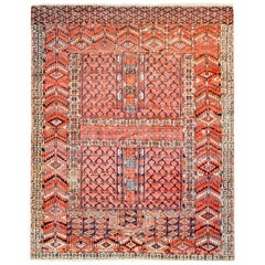 Wonderful Late 19th Century Turkmen Prayer Rug