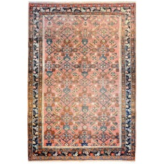 Wonderful Late 19th Century Malayer Rug
