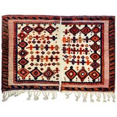 Mid-20th Century Afshar Horse Blanket