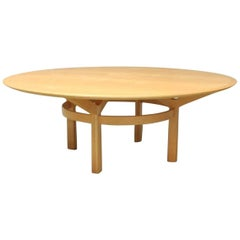 Large Circular Dining Table