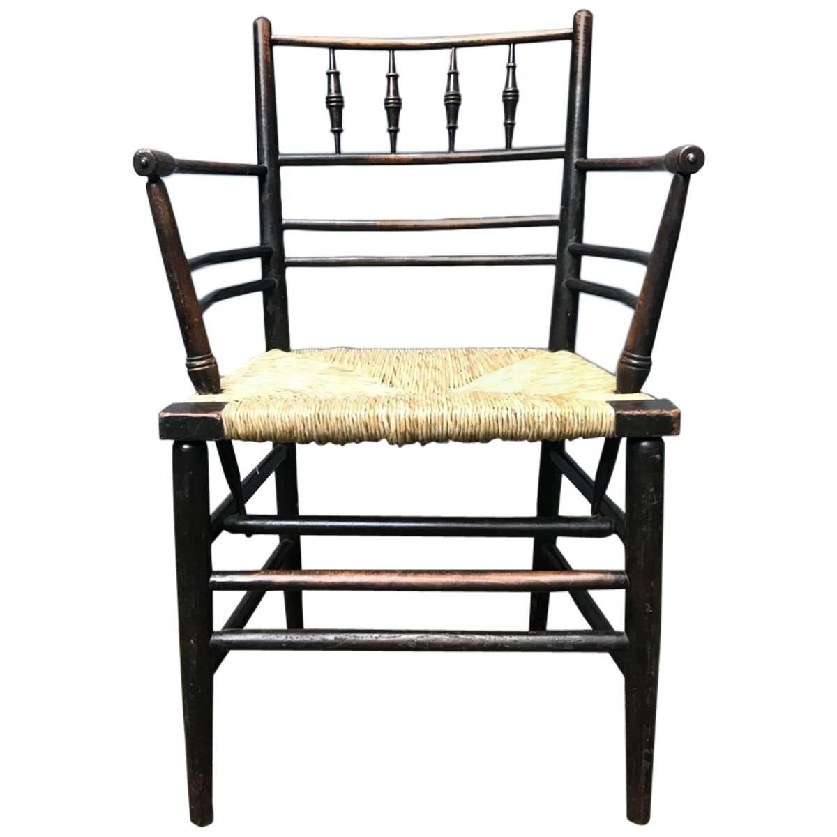 Antique Furniture Edwardian (1901-1910) Trend Mark Antique Long Oak Stool Low Bench William Morris Style Art And Crafts Covering