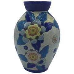 Art Deco Keramis Flower Vase, 1929