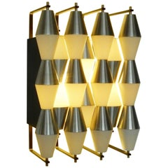 "Architectural Wall Light Model ""C-1656"" by RAAK Amsterdam, Netherlands, 1960s"