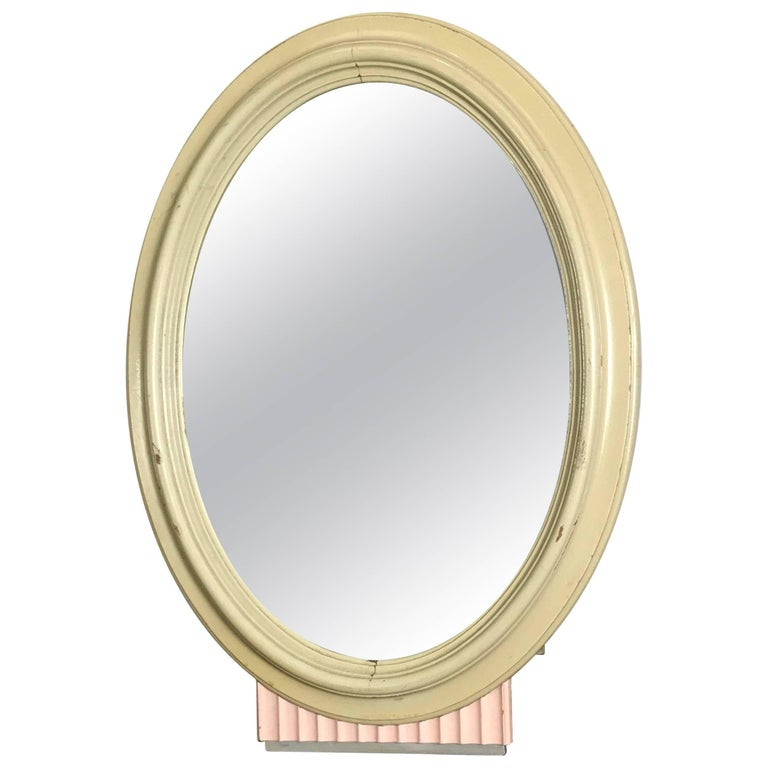 Classic American Art Deco Dresser Mirror, Kittinger Furniture For Sale