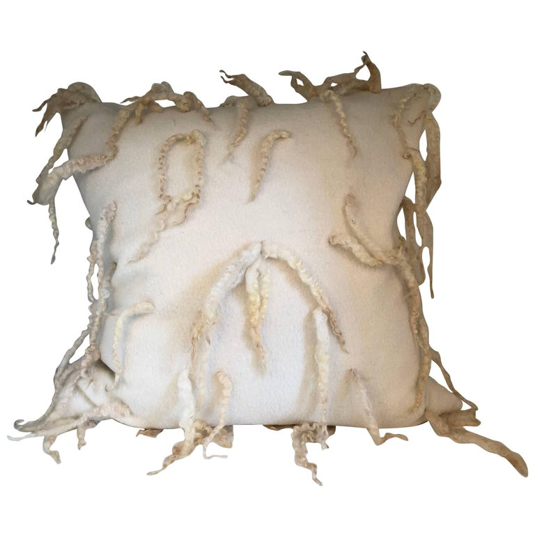"""Pavia"" Wool Pillow"