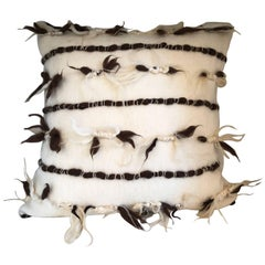 """Varese"" Wool Pillow by Le Lampade"