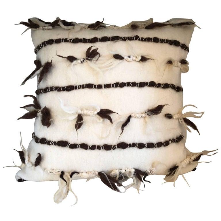 """Varese"" Wool Pillow"