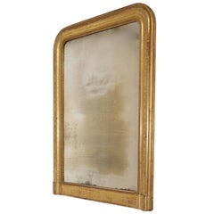 Louis Philippe Gilt Framed Mirror, French, 19th Century