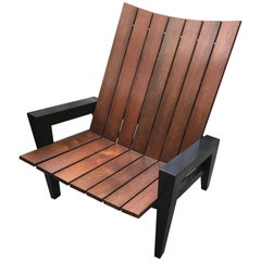 Rob Edley Welborn Prototype Adirondack Chair