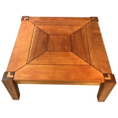 Rob Edley Welborn Prototype Square Coffee Table in Spanish Cedar