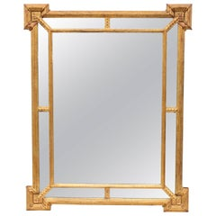 1950s Italian Giltwood Mirror by La Barge