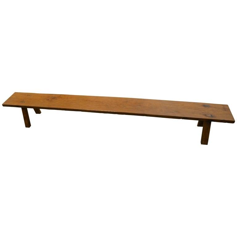 Andrianna Shamaris Wabi-Sabi Teak Wood Bench Or Shelf For