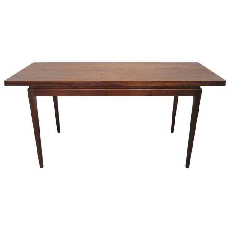 Jens Risom Convertible Dining Table Or Console For