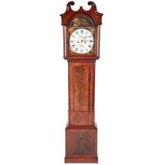 George III Mahogany 8 Day Longcase Clock