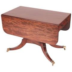 Quality Regency Mahogany Pembroke Table