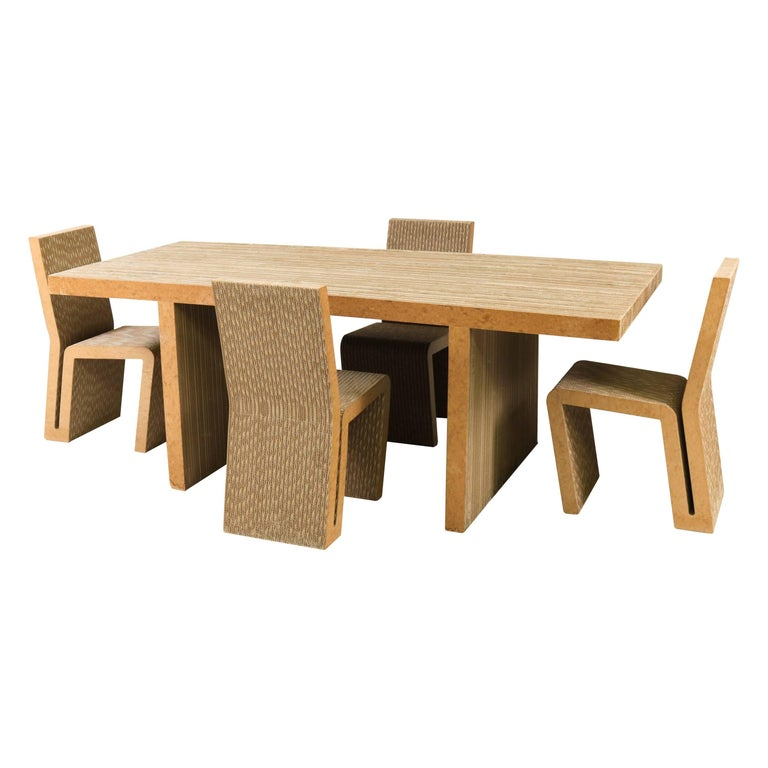 Easy Edges Dining Room Table by Frank Gehry for Vitra, 2000