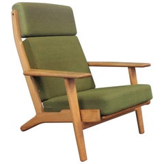 Armchair with High Back, Model GE290a by Hans J. Wegner and GETAMA, 1960s