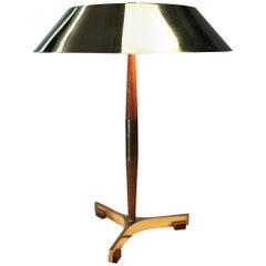 Danish President table lamp by Jo Hammerborg for Fog & Mørup, Denmark
