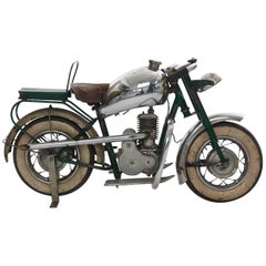Children's Miniature Carousel Motorbike, circa 1940s-1950s, France
