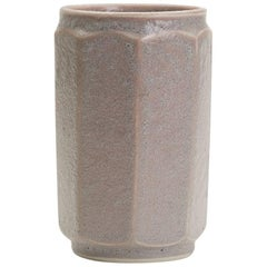 Loughton Studio Pottery Lava Glazed Vase T W Howard, 1971