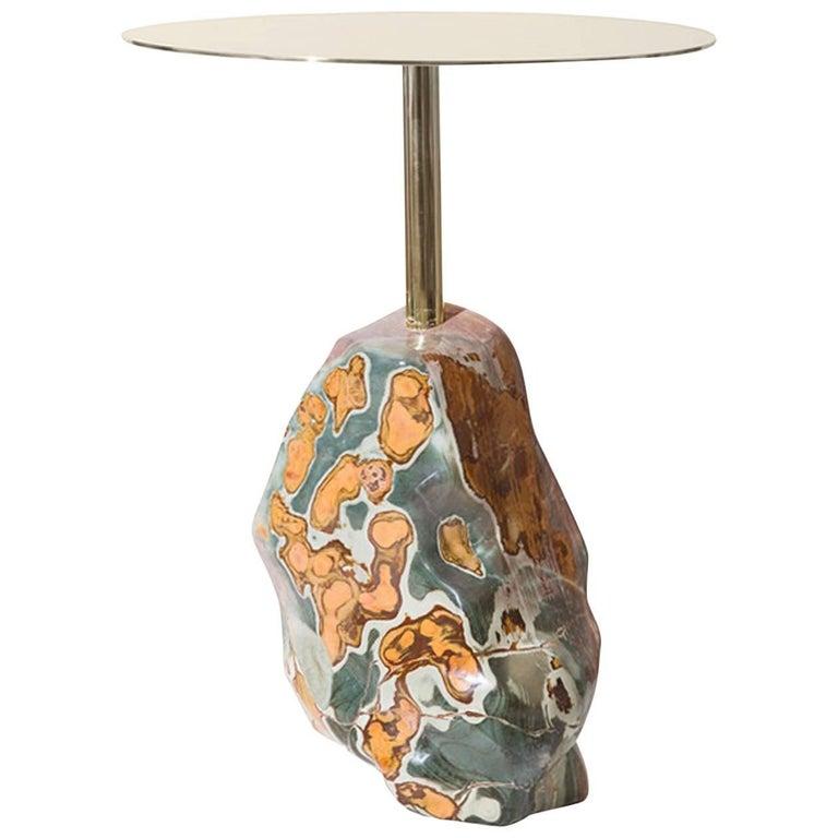 """Stone Age"" Gueridon by Studio Superego, Italy"