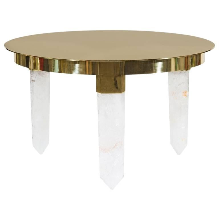 Crystal Coffee Table By Studio Superego Italy For Sale