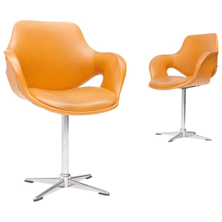 Boris Tabacoff Swivel Chairs