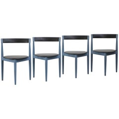 Set of Four Dining Chairs by Hans Olsen, 1960s, Scandinavian