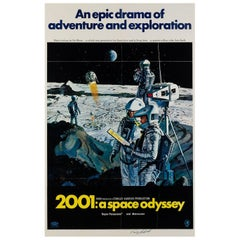 2001 A Space Odyssey US Film Poster, Bob McCall, 1968