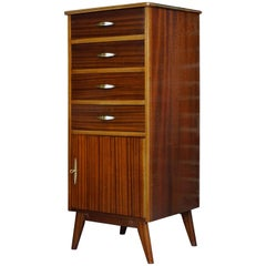 High Chest of Drawers Design from the 1950s
