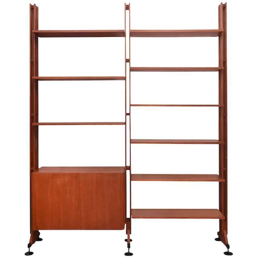rosewood franco albini and franca helg lb10 bookcase