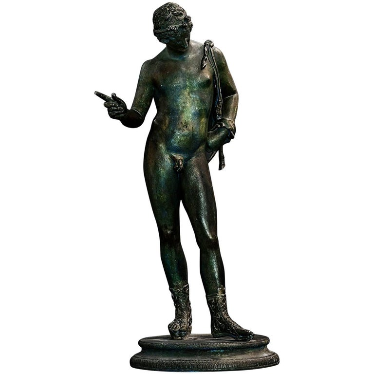 Patinated Bronze Grand Tour Figure, Late 19th Century