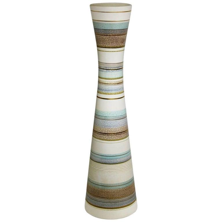 Sascha Brastoff Midcentury Tall Ceramic Vase