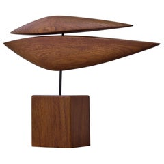 Danish 1950s Teak Sculpture