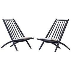 "Pair of 1950s ""Congo"" Easy Chairs by Ilmari Tapiovaara"