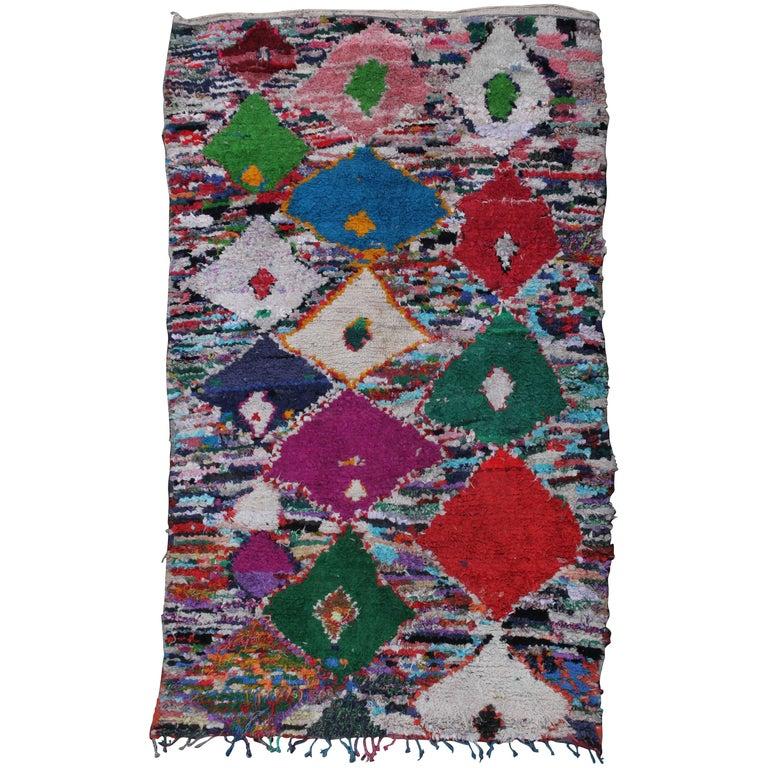 Vintage Moroccan Berber Rug For Sale