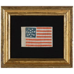 Rare 13 Star Parade Flag Dating to the Civil War Peroid