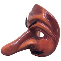 Traditional Leather Capitano Mask