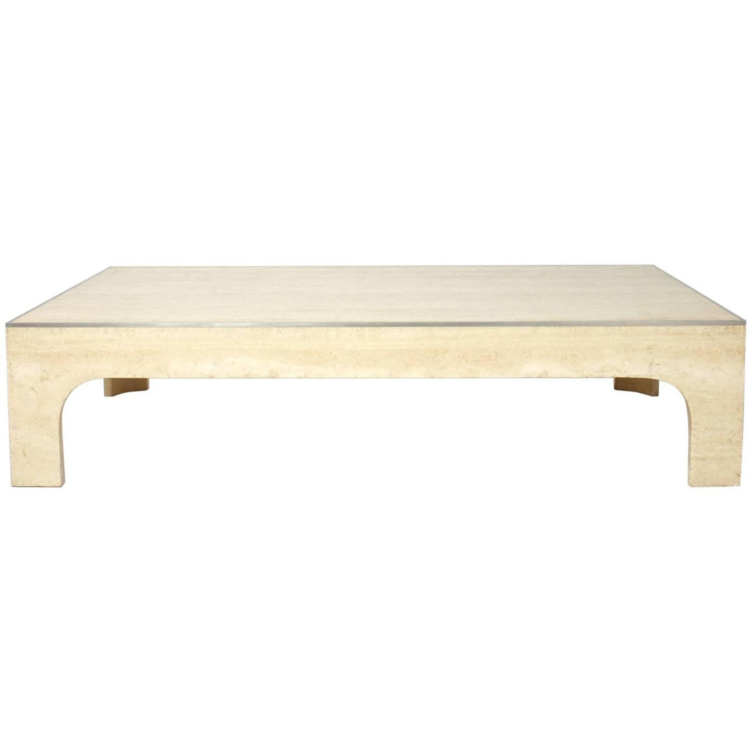 travertine coffee and cocktail tables 172 for sale at 1stdibs
