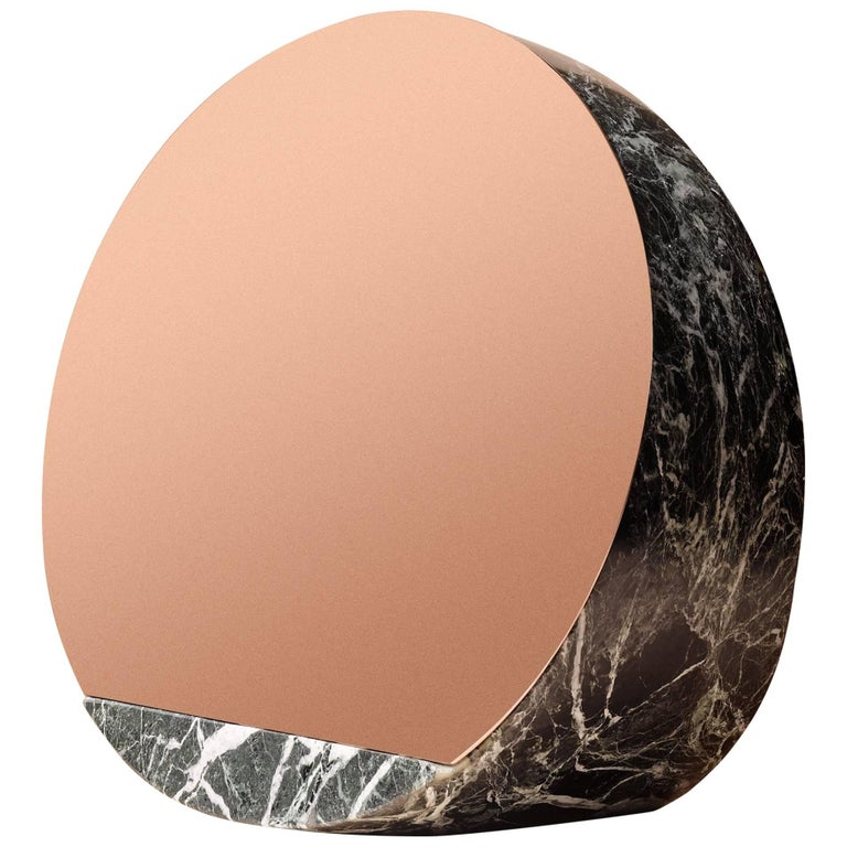 marble mirror by objects of common interest solid marble. Black Bedroom Furniture Sets. Home Design Ideas