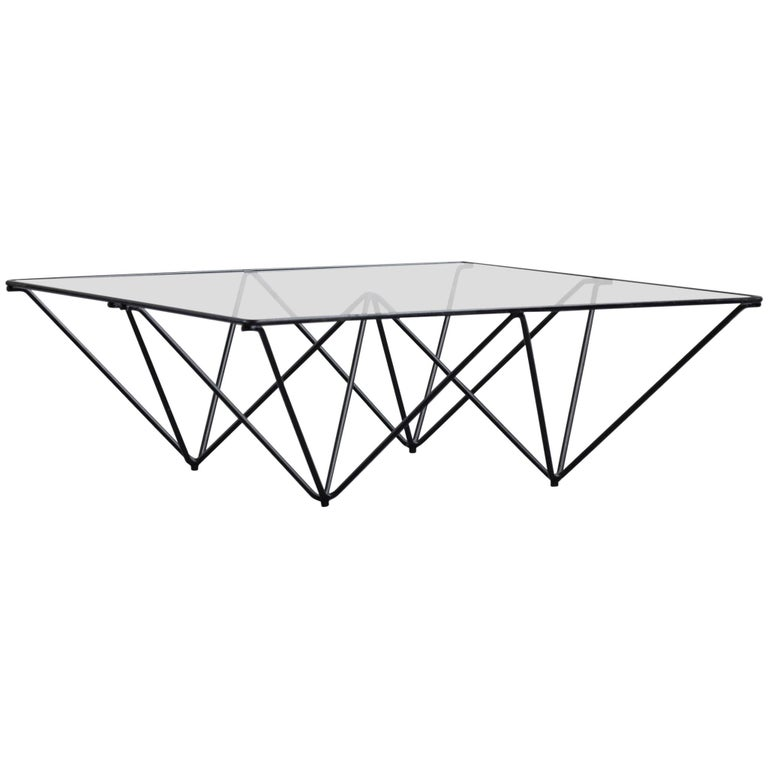 Geometric Alanda Coffee Table by Paolo Piva, 1970s For Sale